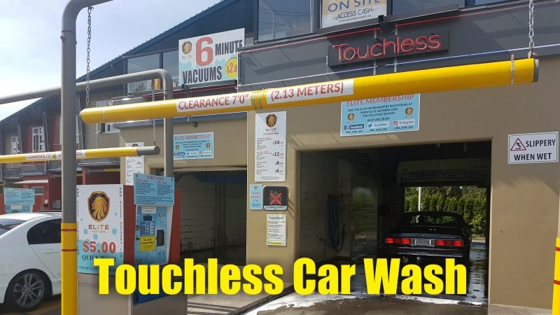 Touchless Car Wash Elite Auto Spa, Scott Road, Surrey, Delta BC